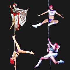 Kym pole dancer