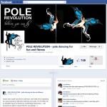 Facebook graphics for Pole Revolution