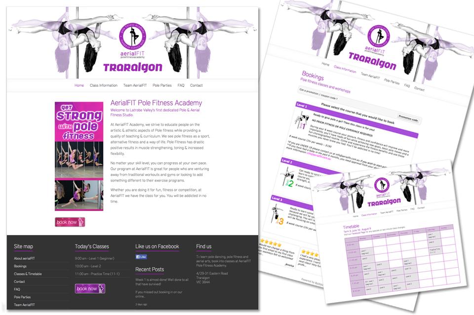 AerialFIT website