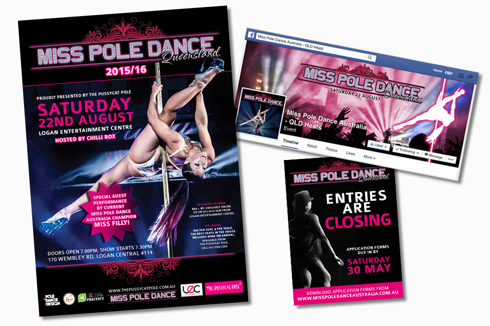Miss Pole Dance Queensland promo