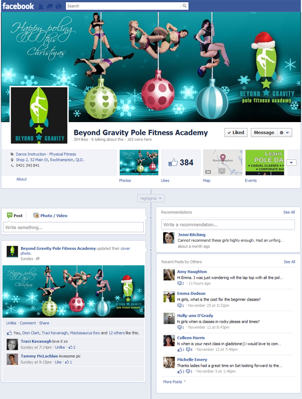 Beyond Gravity social media