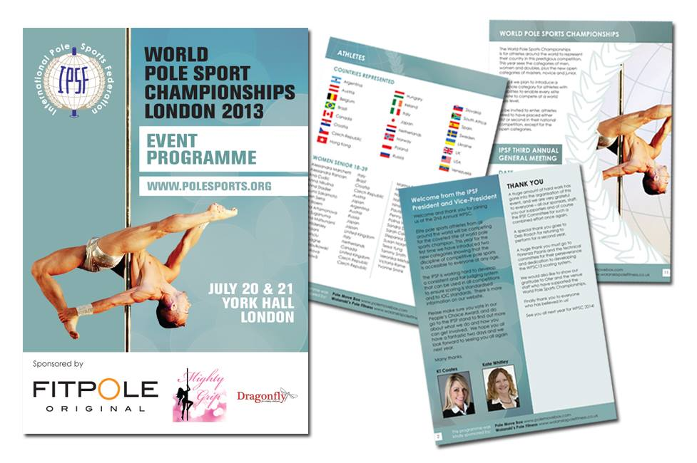2013 Championships event programme
